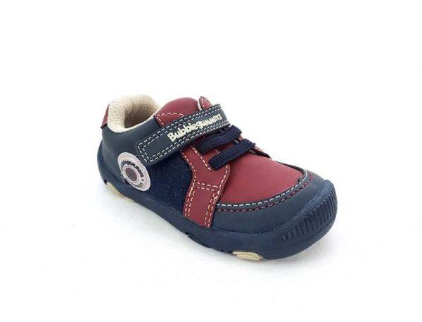 Zapato Justo Velcro - Cordón para Niño - Bubble Gummers 3520-712 (2)