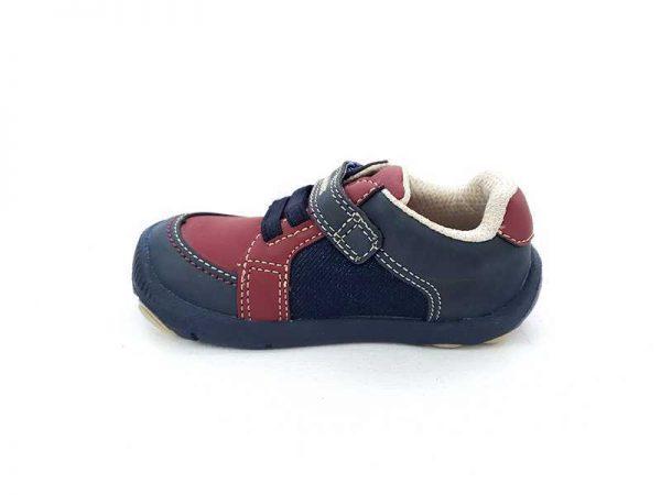 Zapato Justo Velcro - Cordón para Niño - Bubble Gummers 3520-712 (3)