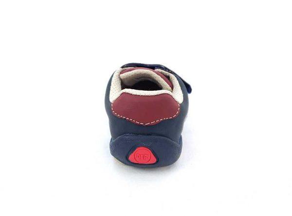 Zapato Justo Velcro - Cordón para Niño - Bubble Gummers 3520-712 (4)