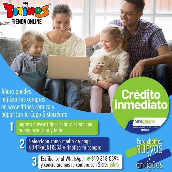 Sistecrédito en Titinos Online