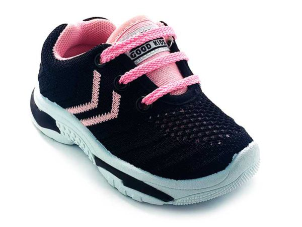 Teni para niña Multicolor 3771-194 negro rosado (3)