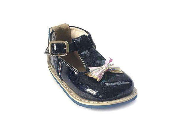 Zapato Notuerce Corbatin para Niña - Titinos 3973-726(2)