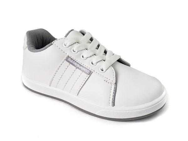 Zapato Colegial Col – BubbleGummers– 3278-1 - Blanco (4)