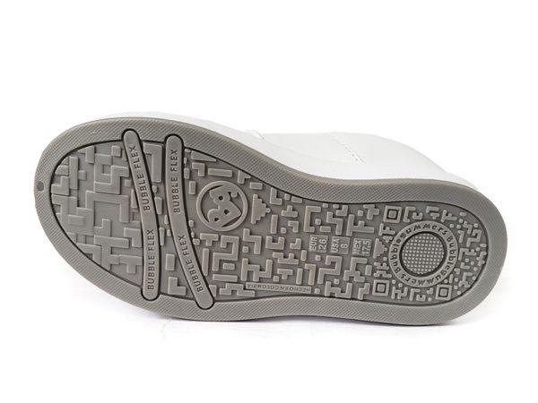 Zapato Colegial Col – BubbleGummers – 3278-1 - Blanco