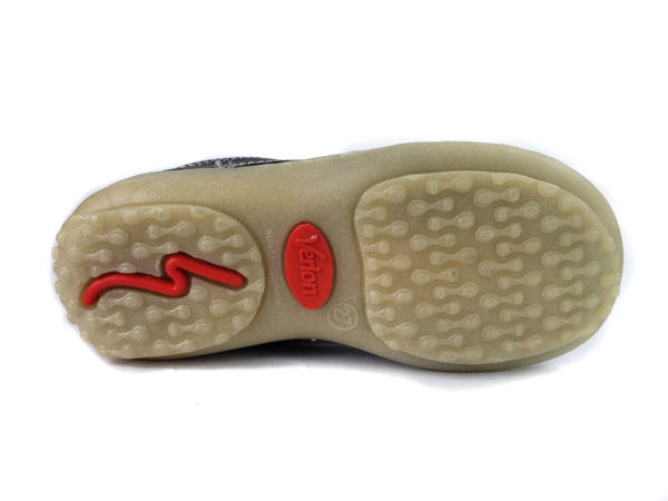 Zapato Colegial Diana Gold Negro - Verlon - 2456-2