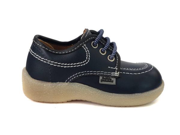 Zapato Colegial Gufi Azul - Bubblegummers - 156-51