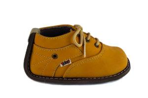 Zapato No-Tuerce para Bebe Titinos - 3713-138 - Amarillo
