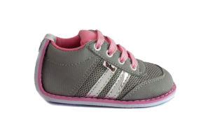 Zapato No-Tuerce para Bebe Titinos - 4018-95 - Gris