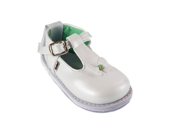 Zapato No-Tuerce para Bebe Titinos - 4016-1 - Blanco