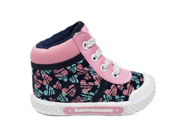 Zapato Tipo Botin Niña Mile - Bubble Gummers - Azul
