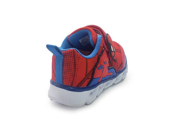 Tenis Luces Emmanuel Spiderman - Bubble Gummers - Rojo