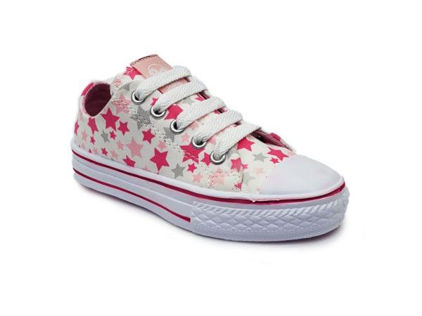 Tenis para Niña Liatana - Bubble Gummers - Blanco Rosa