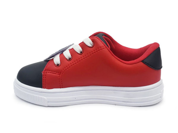 Tenis para Niño Edan - Bubble Gummers - Negro Rojo