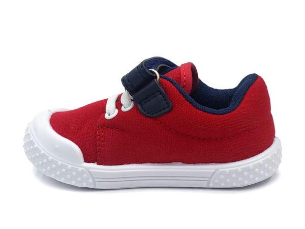 Zapato Velcro Milan Para Niño - Bubble Gummers, Rojo