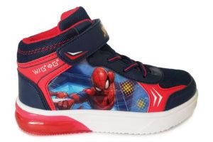 Botin Spiderman con Luces Griego - Bubble Gummers 4236-613 (1)