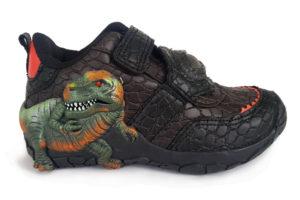 Zapato Luces Velcro Dinosuario L136 - Titinos 4253-12 (1)