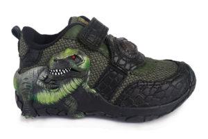 Zapato Luces Velcro Dinosuario L136 - Titinos 4253-13 (1)