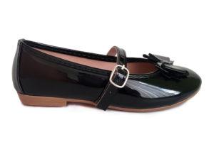 Zapato Tipo Baleta Charol 274 - Titinos 4245-2 (1)