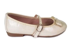 Zapato Tipo Baleta Moño 254 - Titinos 4246-97 (1)
