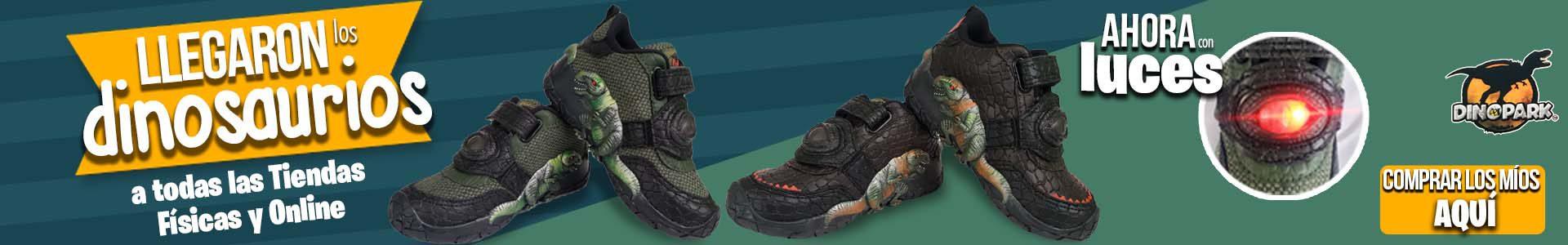 Calzado Dinosaurios con Luces Titinos